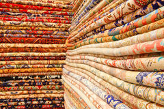 Persian carpets. (Iranian carpets and rugs Stock Photos