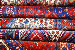 Persian carpets. (Iranian carpets and rugs Stock Image