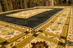 Persian carpets on display Stock Photos