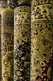 Persian carpets on display Stock Photo