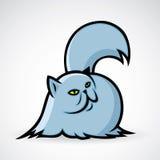 Persian cat. Vector illustration of persian cat royalty free illustration