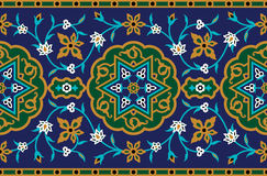 Persian Complex Seamless Pattern Stock Photo