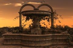 Persian court Stock Photo