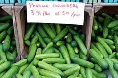 Persian Cucumbers Royalty Free Stock Image