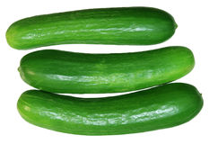 Persian Cucumbers Stock Photos