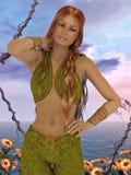 Persian dancer Royalty Free Stock Photo