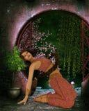 Persian dancer Royalty Free Stock Image