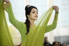 Persian dancer Stock Photography