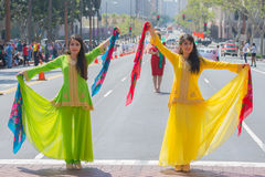 Persian dancers performing Stock Photography