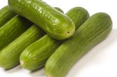 Persian mini cucumbers Royalty Free Stock Photos