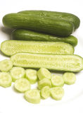 Persian mini cucumbers Stock Image