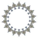Persian Motif Design Royalty Free Stock Photo