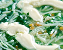 Persian Noodle Soup Royalty Free Stock Photography