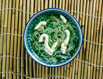 Persian Noodle Soup Stock Photography