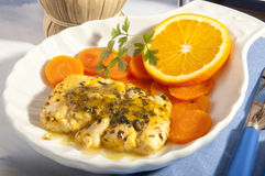 Persian orange, Stock Image