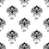 Persian paisley seamless pattern Royalty Free Stock Images