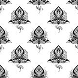 Persian paisley seamless pattern Stock Photos