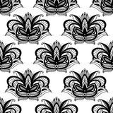 Persian paisleys seamless pattern Royalty Free Stock Images