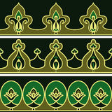 Persian patterns Stock Image