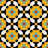 Persian Pointless Seamless Pattern Stock Photo