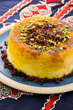Persian Rice Tah-Chin with Berberis Royalty Free Stock Photos