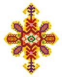 Persian  rug-  tulip and jasmine in diamond Royalty Free Stock Photos