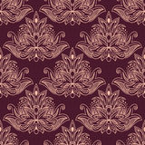 Persian seamless floral pattern Stock Photos