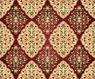 Persian seamless ornament. Royalty Free Stock Photo