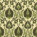 Persian seamless pattern Royalty Free Stock Photography