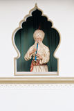 Persian snake charmer. Figurine depicting Persian snake charmer Royalty Free Stock Photography