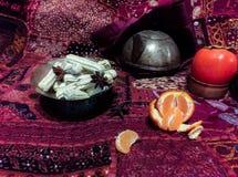 Persian tea table Royalty Free Stock Photo