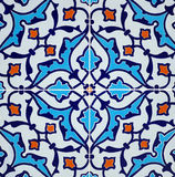 Persian tile design. Persian tiles with an Intricate design Royalty Free Stock Photo