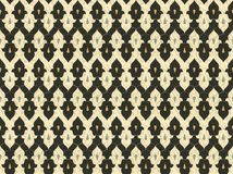 Persian Tiles. Design derived from marble floor inlays of old Persian buildings. Example of Islamic non-objective designs royalty free illustration