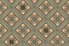 Persian tiles wallpaper Stock Photo