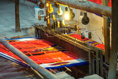 Persian weaving loom Stock Photo