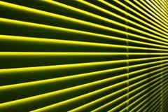 Persiana amarilla Imágenes de archivo libres de regalías
