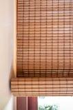 Persiana de madera imagen de archivo libre de regalías