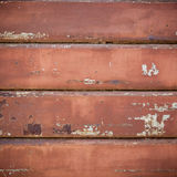Persiana enrrollable oxidada Foto de archivo libre de regalías