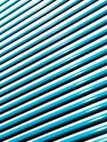 Persianas azules Imagen de archivo