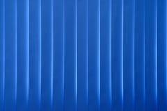Persianas azules de las cortinas Foto de archivo libre de regalías