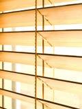 Persianas de bambú Imágenes de archivo libres de regalías