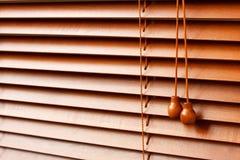Persianas de madera Fotos de archivo