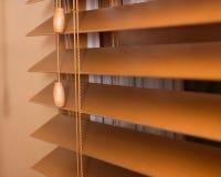 Persianas de madera imágenes de archivo libres de regalías