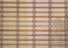 Persianas de madera como fondo Imagen de archivo