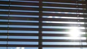 Persianas de ventana Fotos de archivo libres de regalías