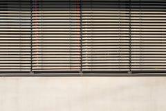 Persianas de ventana fotografía de archivo libre de regalías