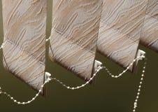 Persianas ligeras del sol Imagen de archivo libre de regalías