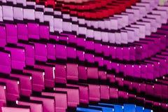 Persianas multicoloras del fondo Imagen de archivo libre de regalías