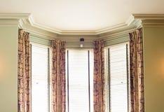 Persianas y cortinas foto de archivo libre de regalías