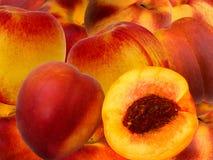 persika för aprikosfruktbland Royaltyfri Bild